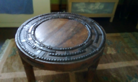 Cartwheel coffee table