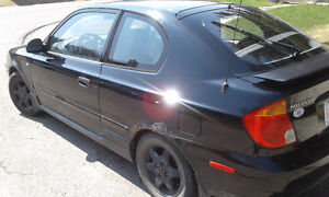 2004 Hyundai Accent Coupe (2 door) - Manual