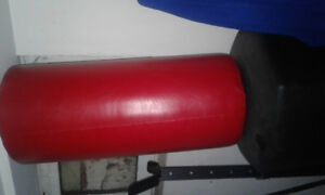 Bottom heavy punching bag stand