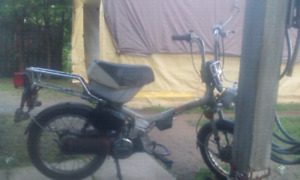 1982 HONDA EXPRESS NC50 RESTORATION PROJECT OR PARTS BIKE
