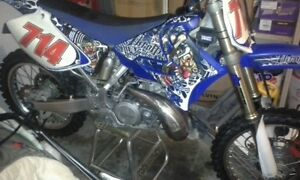 yz 295cc 2009 only 33 hrs on bike