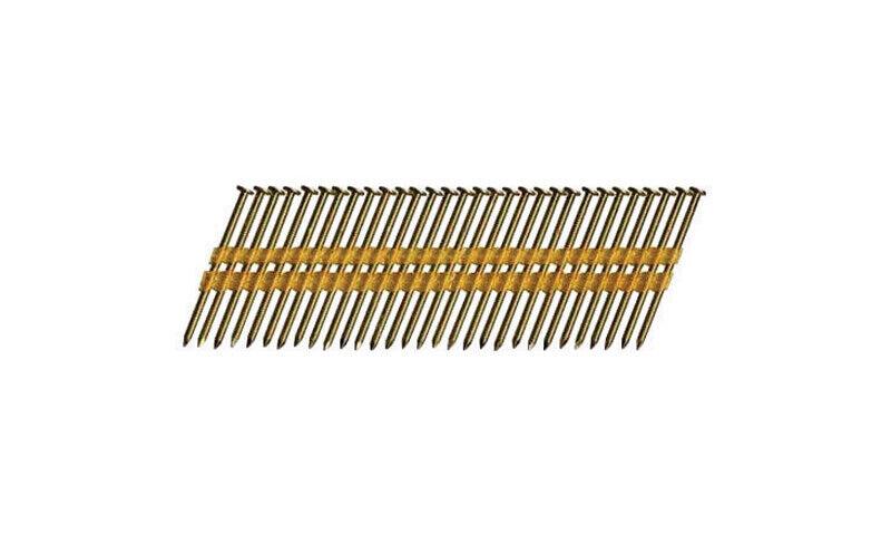 Hitachi 3-1/4 In. Angled Strip Framing Nails 21 Deg. Smooth Shank 4000 Pk