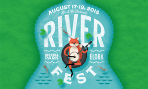 Elora Riverfest - 2  weekend passes [incl. ride to festival]