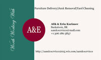 A&E Services-Furniture Delivery, Junk Removal and Cleaning