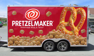 Looking for a home for the Pretzelmaker concession trailer.....