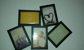 Photo frame for wall