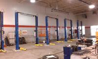 Auto detailing shop - contractor electric builder construction