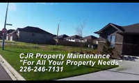 "Cjr Property Maintenance ""we treat your lawn as it was our own"""