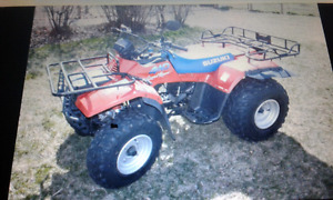 Wanted Suzuki Quad Runner 4x4