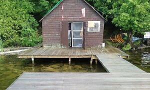 Cottage lot With Boat house & dock