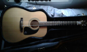 Epiphone Pro 1 acoustic with hardshell case to trade for pedals
