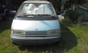 --TOYOTA PREVIA--1993 2WD AUTOMATIC-- FOR PARTS--