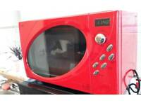 NEXT red microwave