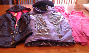 Size 8 Girl's winter outdoor clothing