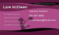 $25/HR FOR A DETAILED, THOROUGH CLEANING!!!