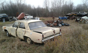 Scrapping 1969 Plymouth Valiant