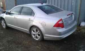 Parts 2012  ford fusion