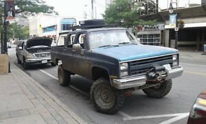 4 door 4x4 Squarebody Chevy For Sale OR Trade Make an Offer