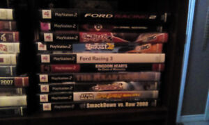10 various PS2 games lot... Working condition SOLD PPU