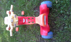 Kids three wheel bike by fisher price  $20 firm as is