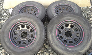 FREE 5 bolt P225/75 R15 rims and tires