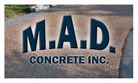 M.A.D. Concrete Inc. - Make your vision a concrete reality