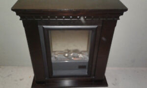 electric fireplace works well