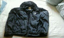 Mens Microlight Elite Karrimor Jacket, black, size L, detachable hood, showerproof & windproof*