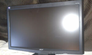 ACER X203H Wide LCD screen