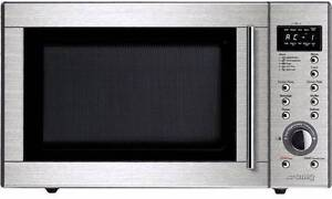 Smeg 29L Stainless Steel Microwave SA384X Baulkham Hills The Hills District Preview