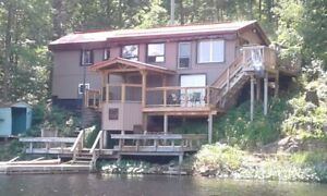 HOT TUB Private FirePit sleeps6 2hrs fromTO Bass & Trout Fishing