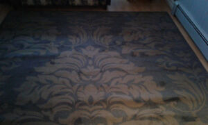 315 cm by 240 cm Rug - $ 300.00, Paid $ 600, never used