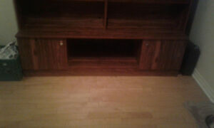 China Cabinet/ Shelf/ Entertainment Stand (All in One)