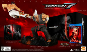 Brand New Tekken 7 Collector's Edition for PS4