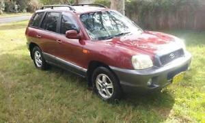 2003 Hyundai Santa Fe . 11 months rego. Nowra Nowra-Bomaderry Preview