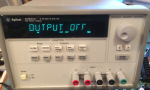 HP Agilent Keysight E3633A Bench Lab Power Supply