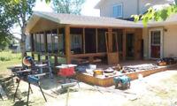Decks, fences, sheds and more...