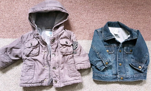 Boys size 6-12 month jackets