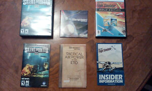 3 pc games with discs and instructions and packaging