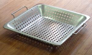 BBQ Accessories-Vegetable Basket-New