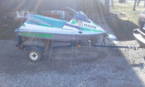 PWC Jet Ski BRP Seadoo XP 600cc runs good, with single trailer