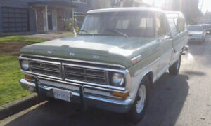 1972 Ford F-250 low mileage