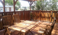 Fencing, Deck, Railing, Siding & More ~  403-548-5697