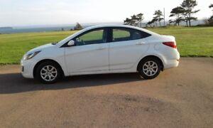 2013 Hyundai Accent GL Sedan - Price Reduced to $7,500.00
