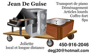 Transport, Déménagement, Spa, Piano, Coffre fort, Objet lourd