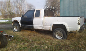 Parting out a 1996 chevy diesel