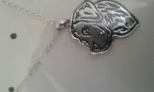 new lab necklace