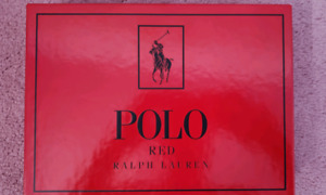 Ralph Lauren polo red cologne/spray gift set - BRAND NEW