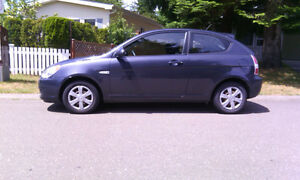 2007 Hyundai Accent GS Coupe (2 door)