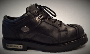 Botte Soulier HARLEY Homme Taille 12 Cuir Lacé 80$ VM